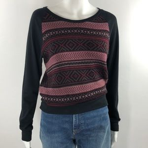Knit sweater top size small